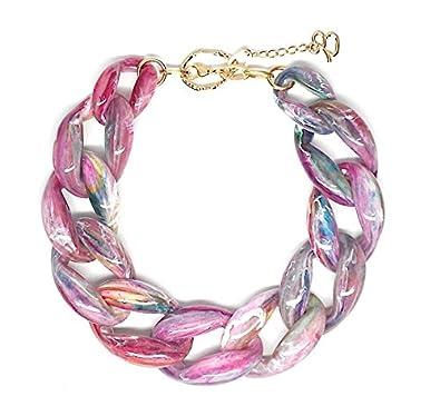 Diana Broussard NATHAN Chain Necklace Nude Ko80J3iR
