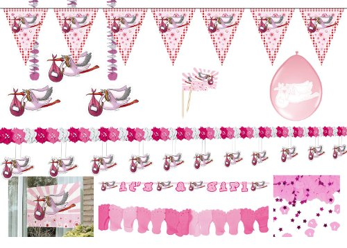Folat Party Package Birth Girl ()