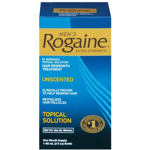 Men's Rogaine Hair Regrowth Treatment, Extra Strength - 1 Mo