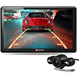 junsun 7 inch HD Car GPS Navigation Portable Bluetooth Rear View Camera USA/Canada Free Map Update