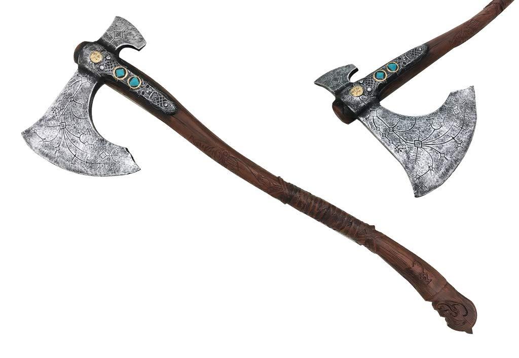 Medieval Viking Foam Axe Cosplay Costume Replica Halloween Xmas Gift