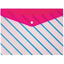 """Divoga Poly Snap Letter Envelope, Sweet Smarts Collection, 9 1/16"""" x 12 1/4"""", Multi-color"""