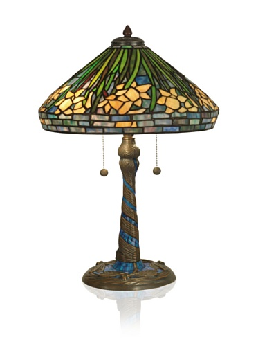 Dale Tiffany Daffodil Table Lamp
