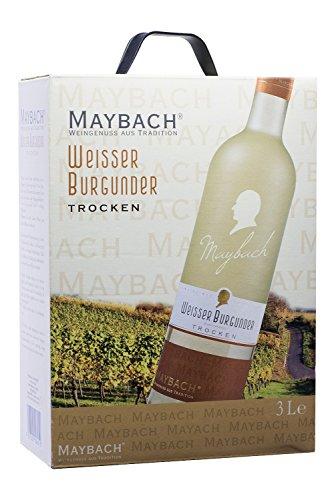 Maybach Weißer Burgunder trocken Bag-in-Box (1 x 3 l)