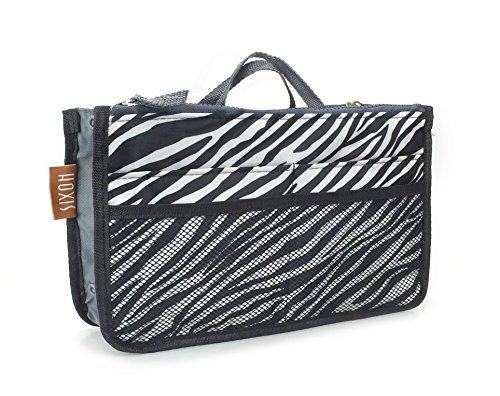purse organizer inserts zebra - 1