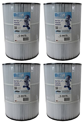 4)  Unicel C-9475 Jacuzzi Spa CFR 75 Sq Ft Filter Cartrid...