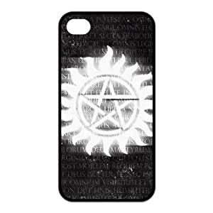 Custom Your Own Personalized Unique Supernatural Silicone iPhone 4/4S Durable Case Cover