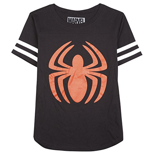 Spiderman Varsity style Junior's T-shirt S