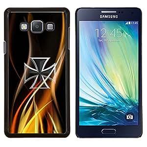 LECELL--Funda protectora / Cubierta / Piel For Samsung Galaxy A7 A7000 -- Resumen de la cruz céltica --