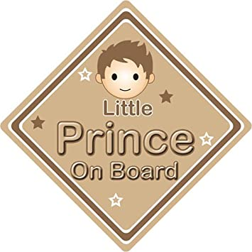 Personalised Child//Baby On Board Car Sign ~ Little Brother On Board ~ L.Blue
