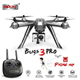 OUYAWEI MJX Bugs 3 Pro B3 Pro RC Drone with 1080P WiFi FPV Camera GPS Follow Me Mode Brushless RC Helicopter Quadcopter VS Bugs 5W