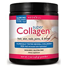 Pack of 6 x NeoCell Super Collagen Type 1 and 3 Powder - 6600 mg - 7 oz