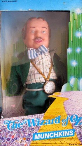 The Wizard of Oz MUNCHKINS MAYOR Doll w Thin Head (1988 MULTI Toys) - Munchkin From Wizard Of Oz