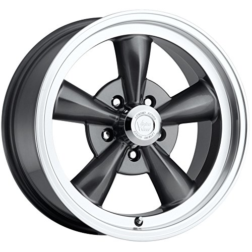 Vision Legend 5 141 Series Gun Metal Machined Lip Wheel - Wheels Lip Machined
