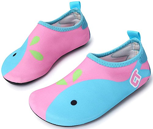 Giotto Lightweight Quick-Dry Barefoot Water Sports Shoes Aqua Socks for Beach Swim Surf Yoga Exercise
