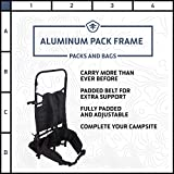 Stansport Deluxe Freighter Aluminum Pack Frame, One Size