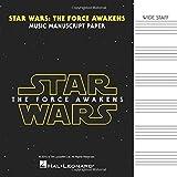Star Wars: The Force Awakens - Manuscript Paper: Wide-Staff