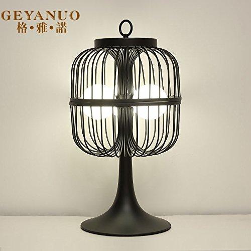 Nuevo estilo moderno chino-luz de lámpara de mesa retro ...