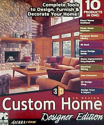 Custom Home Designer. Sierra 3D Design Custom Home  Designer Edition Amazon com