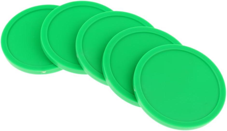 Sharplace 5 Pcs de Discos de Hockey 82 mm de Aire para Mesas de Hockey