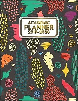 Amazon.com: 2019-2020 Academic Planner: Trendy Boho Weekly ...