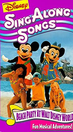 Amazon Com Disney S Sing Along Songs Beach Party At Walt Disney