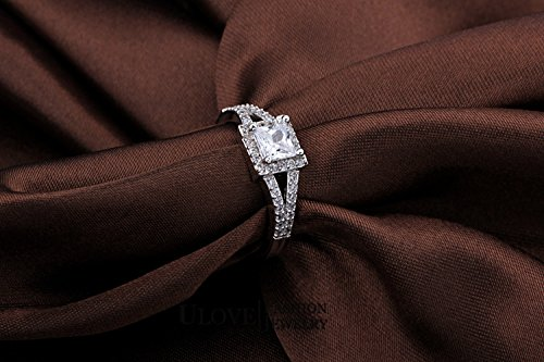 GemMart Jewelry Wedding Ring Women CZ Jewelry Vintage Ring Anillo Crystal Anel WX020