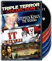 Triple Terror Collection (Stephen King's The Shining (1997) / It (1990) / Salem's Lot
