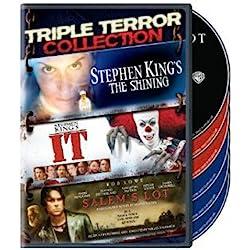 Triple Terror Collection (Stephen King's The Shining (1997) / It (1990) / Salem's Lot (2004))