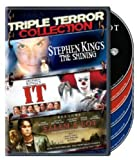 Triple Terror Collection (Stephen King's The Shining (1997) / It (1990) / Salem's Lot (2004))
