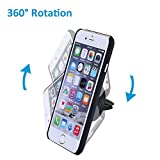 Car Mount,Mpow Grip Magic Mobile Phone Cradle Air Vent Magnetic Phone Holder Universal Car Mount for iPhone 6/6 Plus/5 Samsung S6/S7 Nexus 7 Huawei P9 and other Andriod Cellphones(Black) Bild 3