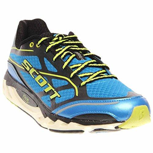 Scott Eride Support - SCOTT Running Men's Eride AF Support 2.0 Mens Running Shoe,Blue/Green,9.5 D US