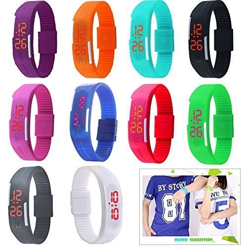 silicone jelly watch for men - 3