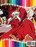 InuYasha Coloring Book: Great Coloring Book for
