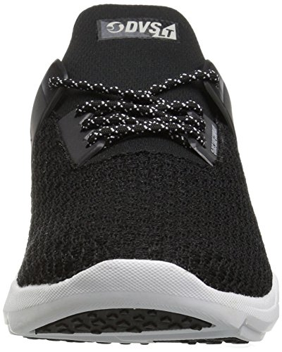 Lt 004 Uomo Mesh Sneaker DVS Nero Shoes Black Cinch wSTn8nqEx6