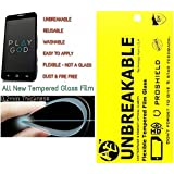 AE (TM)TEMPERED GLASS 0.2mm UNBREAKABLE REUSABLE SCREEN PROTECTOR Film Guard FOR SAMSUNG GALAXY J7