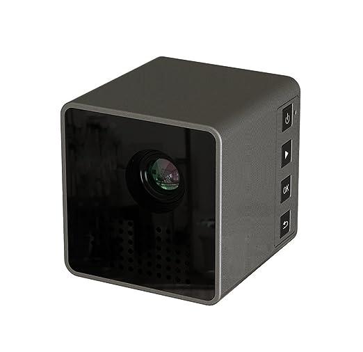 ZYWX Mini 1080P HD Mini WiFi Portátil Exterior Proyector para Cine ...