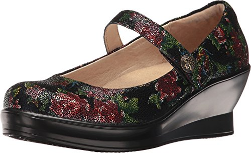 Alegria by PG Lite Women's Flair Mary Jane Wedge,Winter Garden Leather,US 8.5 M