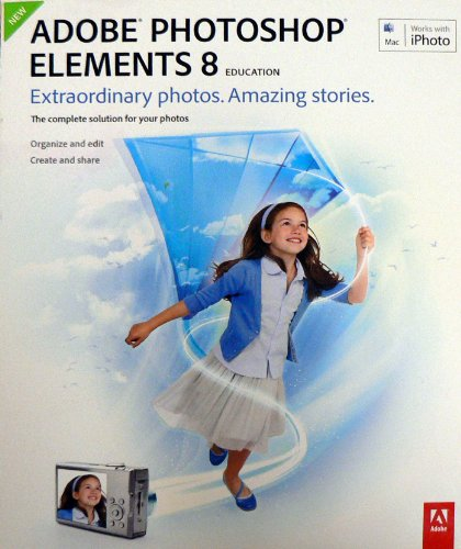 Photoshop Elements 8 MAC Acad product image