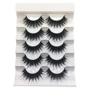 TOOGOO Handmade Europe And America Exaggerated Thick Stage False Eyelashes Makeup Makeup Nightclub Makeup Smoked Makeup 3D Eyelashes