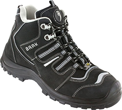 Philipp bAAK sports chaussures de sécurité eSD s3 schnürstiefel, chaussures de travail taille 50, noir, dimensions :