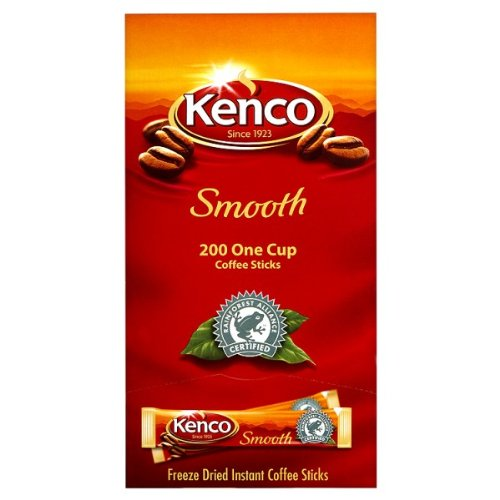 200 Kenco Smooth - 200 x Individual Sachets by Kenco by Kenco
