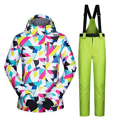 Leit Épais Coupe Ski Simple vent Pantalon Imperméable Femme Double De En Chaud Plein Costume 3 Air Vêtements dsxBthCQr