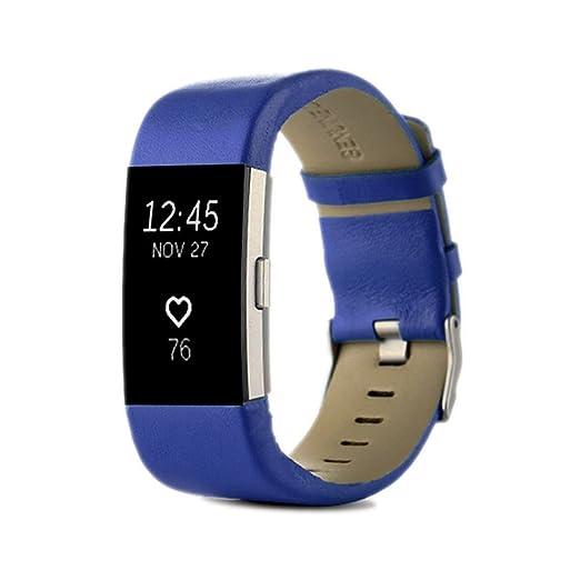 3 opinioni per Cinturino di ricambio per orologio Fitbit Charge 2, in vera pelle