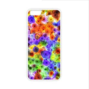 Beautiful Jellyfish iPhone 6 - 4.7 Inch Plastic and TPU Durable Phone Case Cover(Laser Technology)