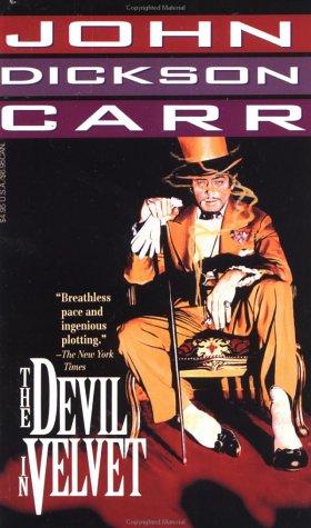 book cover of The Devil in Velvet