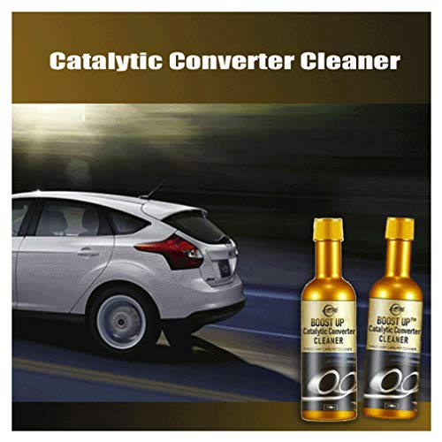 2PCS Boost Up Vehicle Engine Catalytic Converter Cleaner Multipurpose Deep Cleaning