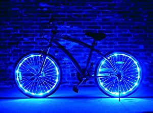 Brightz WheelBrightz LED Bicycle Wheel Accessory Light (for 1 Wheel)