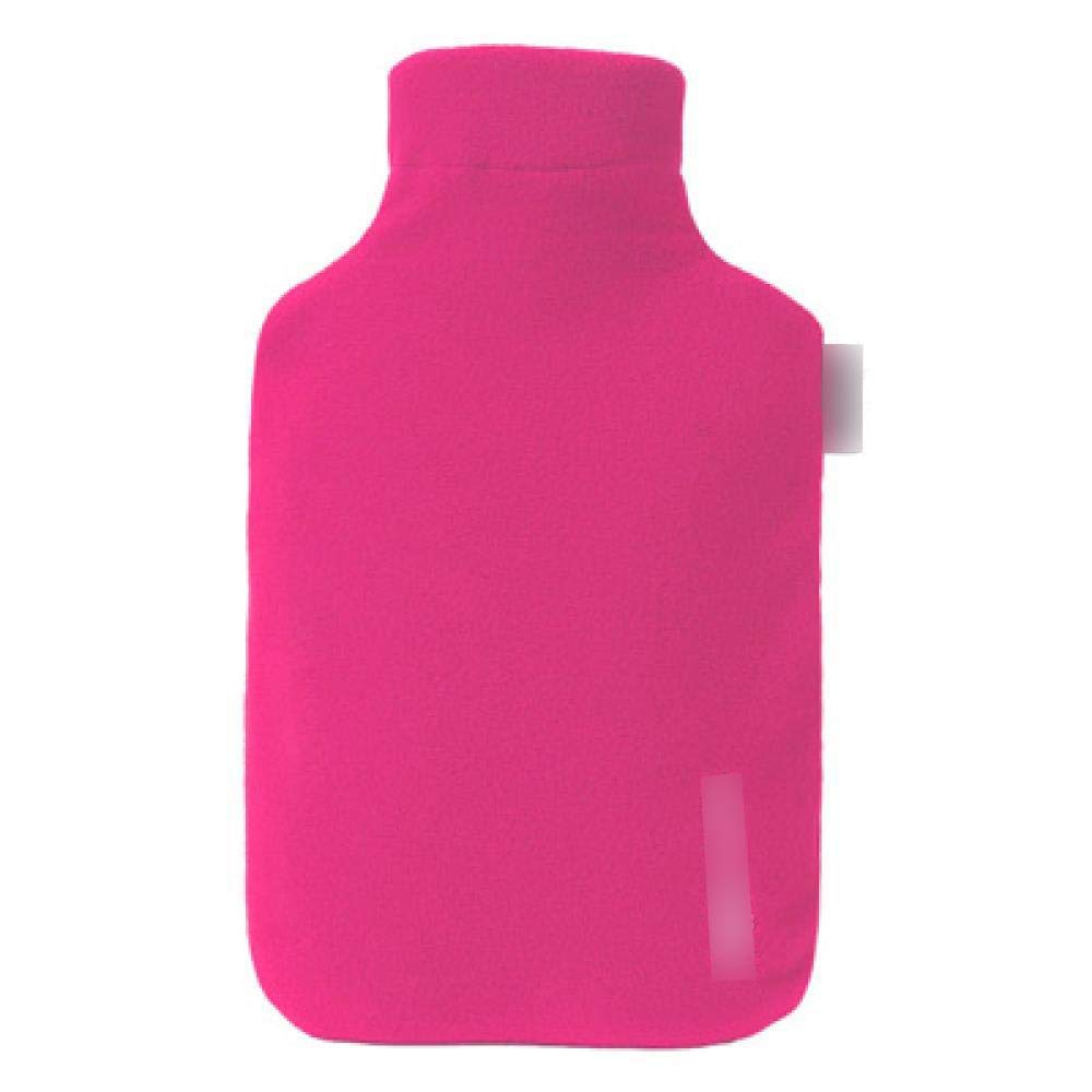 PVC Hot Water Bottle - 2000ml Hot Water Bag, Warming Pain Relief, Explosion-Proof and Leakproof, Easy to Carry, Pink by YQQWN