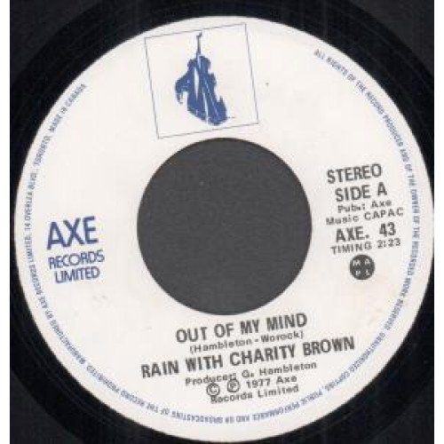 Rain With Charity Brown: Out Of My Mind / Here With You 7
